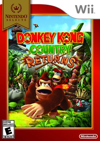 Nintendo Selects: Donkey Kong Country Returns Wii | Walmart.ca