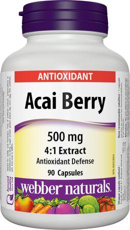 Webber Naturals Acai Berry Reviews