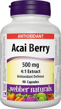 Webber Naturals Acai Berry Reviews