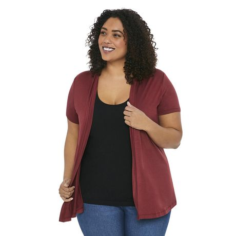 Fashion Women Knitted Print Sweater Coat Pocket Long Sleeve Cardigan T-shirt Top