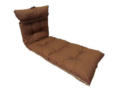Hometrends deluxe reversible lounge cushion walmart canada - Walmart lounge cushions ...