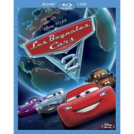 cars 2 2 disc blu ray dvd blu ray amaray bilingual. Black Bedroom Furniture Sets. Home Design Ideas