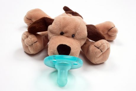 Click here for Wubbanub Infant Pacifier - Brown Puppy prices