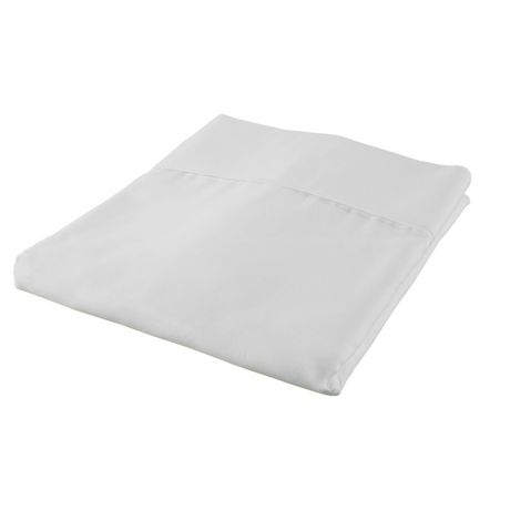 Hometrends drap housse en percale de coton de contexture for Drap housse en percale