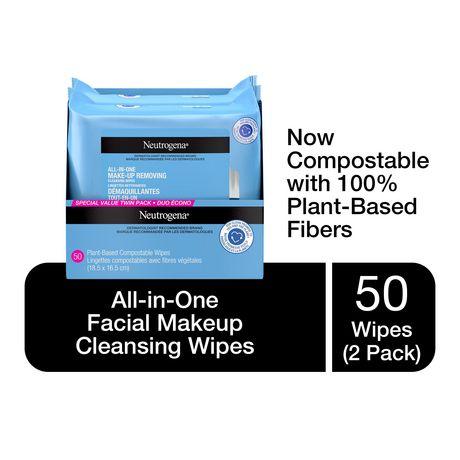 Lingettes Nettoyantes Démaquillantes Tout En Un De Neutrogena(Md) by Neutrogena