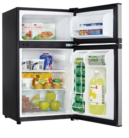 Compact Refrigerators Without Freezer. Home Improvement Large Appliances This compact refrigerator is ideal for snacking in your bedroom, grabbing a cold water in your dorm room after class, storing beverages in your garage, or just an extra fridge around the house. For certain items sold by Walmart on unicornioretrasado.tk