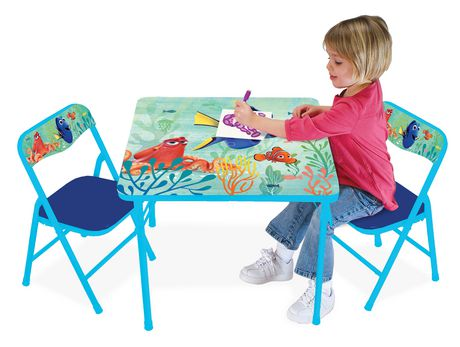 Disney Finding Dory Activity Table And Chairs Set Walmart Ca