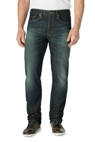 signature by levi strauss co men 39 s slim straight jeans. Black Bedroom Furniture Sets. Home Design Ideas