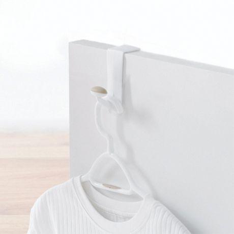 Crochet unique antid rapant pour dessus de porte de - Porte serviette sur pied walmart ...