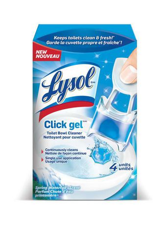 Lysol Click Gel Spring Waterfall Toilet Bowl Cleaner