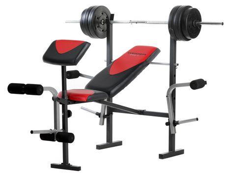 Walmart Ca Weight Bench Weider Bench Pro 256 Walmart Ca