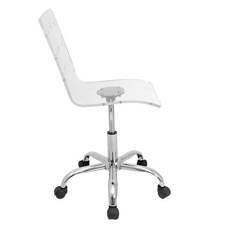 chaise de bureau contemporaine suisse hauteur ajustable. Black Bedroom Furniture Sets. Home Design Ideas