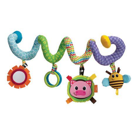 infantino spiral activity toy. Black Bedroom Furniture Sets. Home Design Ideas