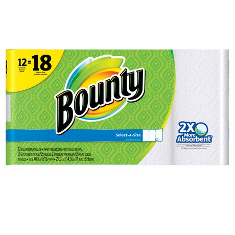 Bounty Select-A-Size Paper Towels White