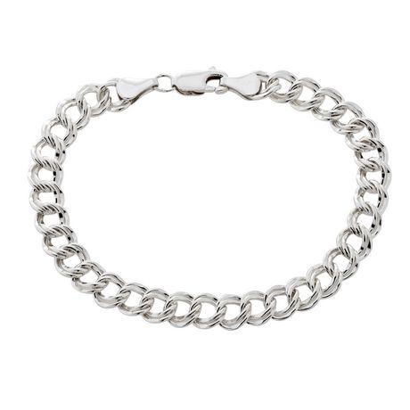 sterling silver parallel curb bracelet walmart ca