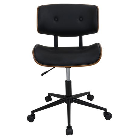 chaise de bureau milieu du si cle lombardi hauteur ajustable par lumisource. Black Bedroom Furniture Sets. Home Design Ideas