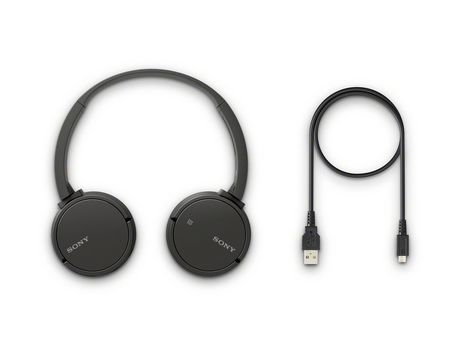 Sony Sony Wh-Ch500/B Stamina Wireless Headphones Black
