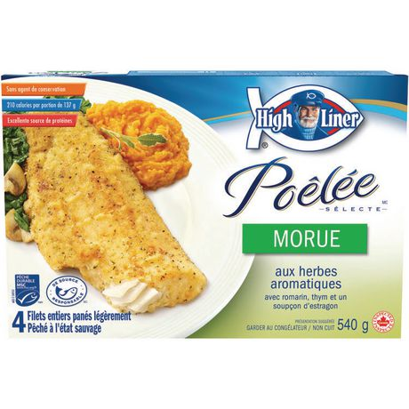 High liner pan sear cod savoury herb lightly breaded whole for Cod fish walmart