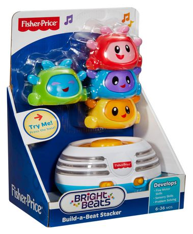 Fisher Price Bright Beats Build A Beat Stacker Playset