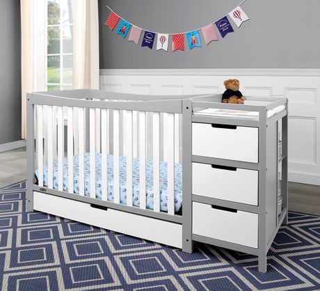 Graco Remi 4 In 1 Convertible Crib And Changer Walmart