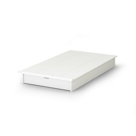 Lit plate forme avec tiroir collection soho de meubles south shore simple 3 - Lit simple avec tiroir ...
