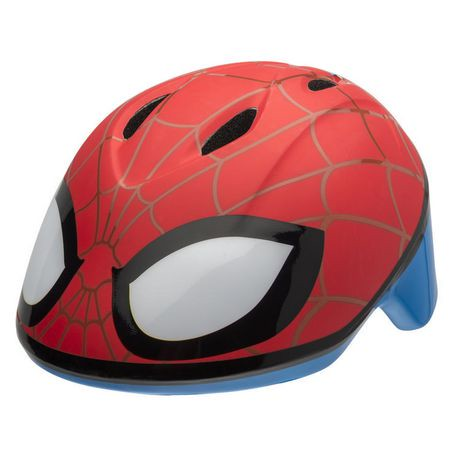 casque de v lo spiderman de bell sports pour tout petits. Black Bedroom Furniture Sets. Home Design Ideas