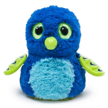 Hatchimals Interactive Creature Draggle Blue/Green ...