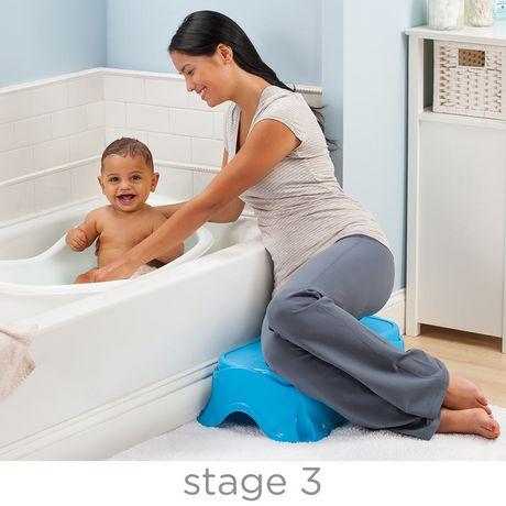 summer infant right height bath center tub. Black Bedroom Furniture Sets. Home Design Ideas
