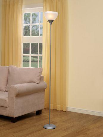 Your Zone Sliver Floor Lamp Walmart Canada