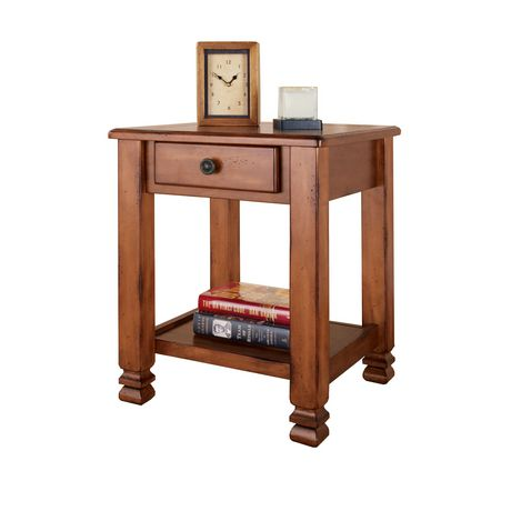 Altra Summit Mountain Rustic End Table
