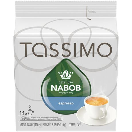 tassimo nabob espresso t discs coffee. Black Bedroom Furniture Sets. Home Design Ideas