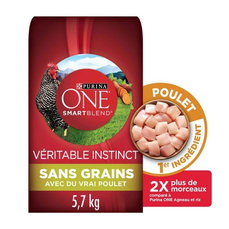 purina one smartblend true instinct grain free formula