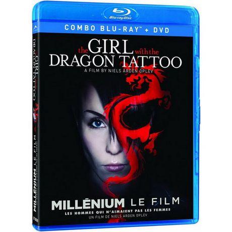 The girl with the dragon tattoo swedish blu ray dvd for Girl with dragon tattoo books in order
