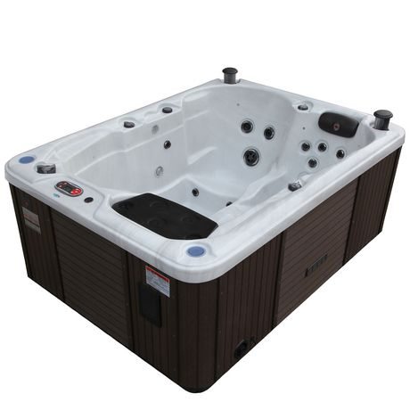 canadian spa co quebec 29 jet plug and play hot tub walmart canada. Black Bedroom Furniture Sets. Home Design Ideas
