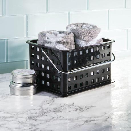 panier de rangement pour salle de bains de mainstays. Black Bedroom Furniture Sets. Home Design Ideas