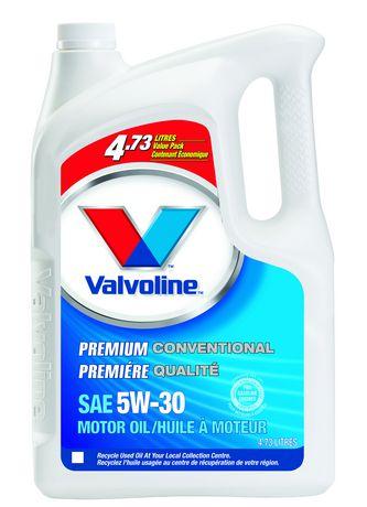 Valvoline premium conventional motor oil for Valvoline motor oil certification