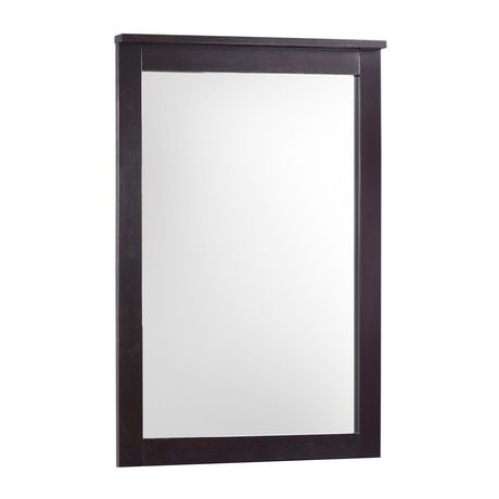 Corliving miroir ashland pour commode cappuccino for Miroir walmart