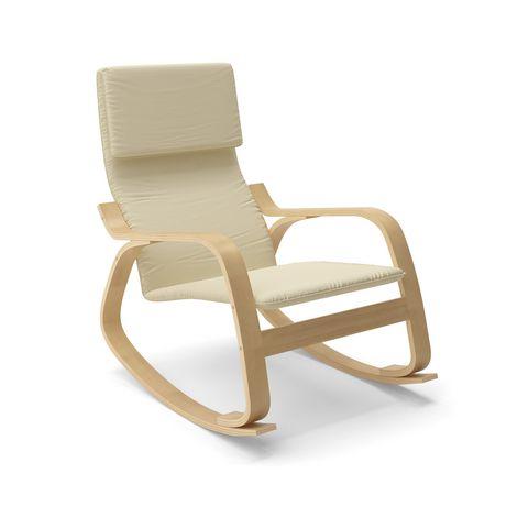 chaise ber ante aquios bentwood de corliving. Black Bedroom Furniture Sets. Home Design Ideas