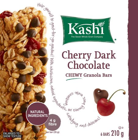 Kashi* Chewy Cherry Dark Chocolate Granola Bars | Walmart.ca