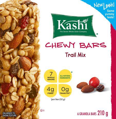 Kashi* Chewy Granola Bars Trail Mix | Walmart.ca