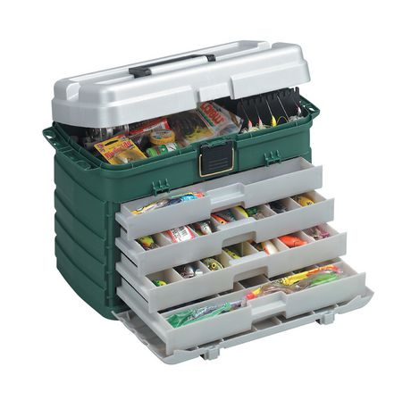 Plano Molding 758 4 Drawer Tackle Box