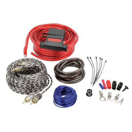 48880 Car Amp Wiring Kit Gauge on 0 gauge stinger amp kits, o gauge amp kit, kicker wiring kit, scosche 1600 watt wiring kit,