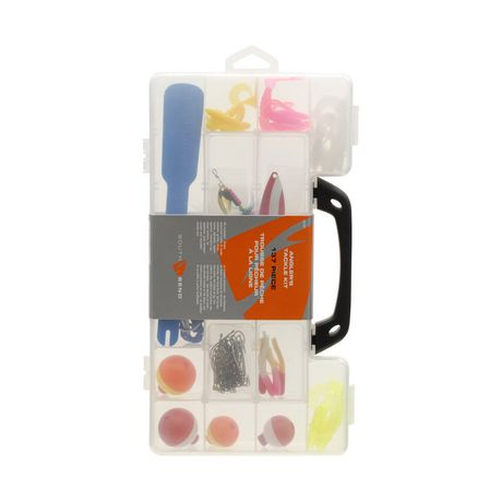 South bend 137 piece deluxe tackle kit for Fishing kit walmart