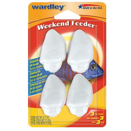 Wardley weekend feeder for Walmart fish food