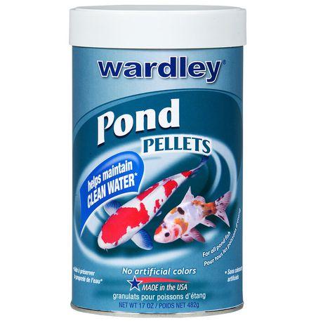 Wardley pond pellets for Walmart fish food