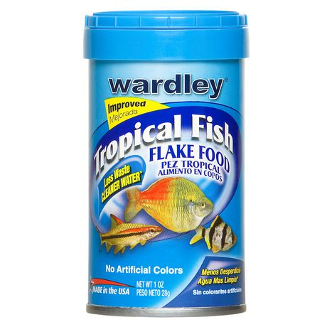 Wardley tropical fish flake food for Walmart fish food