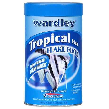 Flocons d 39 aliments pour poissons tropicaux de wardley for Flocon pour poisson
