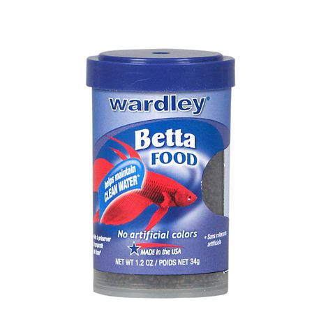 wardley betta food