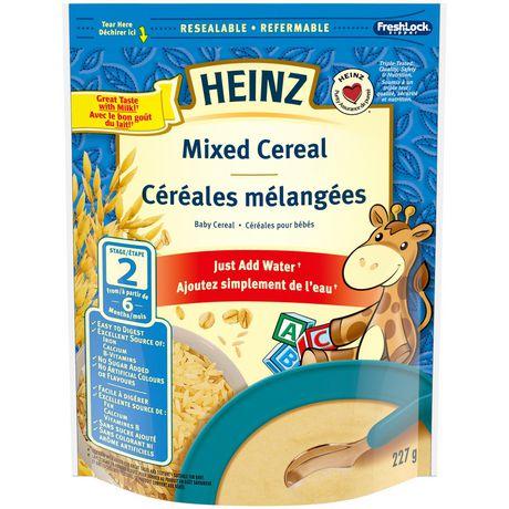 Heinz Mixed Baby Cereal Walmart Canada