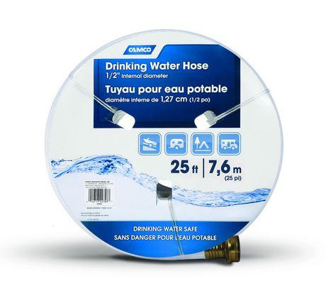 tuyau souple pour eau potable 7 62 m 25 pi diam tre. Black Bedroom Furniture Sets. Home Design Ideas